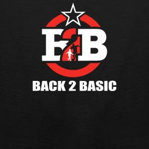Back To Basics To Foot Ball - Men's Premium Tank