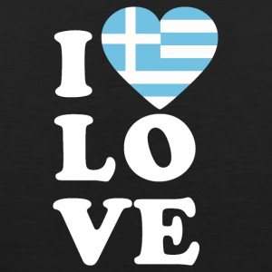 I love Greece - Men's Premium Tank