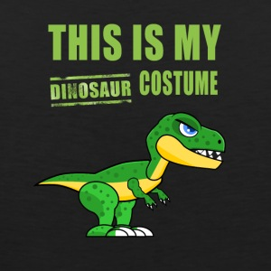 Dinosaur costume cute Green Humor fun carneval lol - Men's Premium Tank