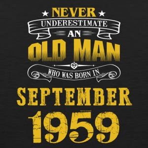 An Old Man Who Was Born In September 1959 - Men's Premium Tank