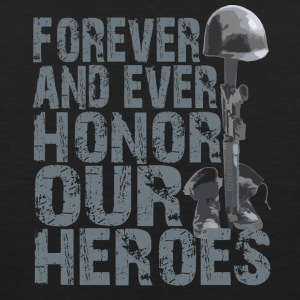 Honor Our Heroes - Memorial Day T-Shirt - Men's Premium Tank