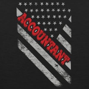 Accountant Flag - Men's Premium Tank