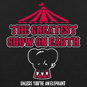 Elephants Hate the Circus - Men's Premium Tank