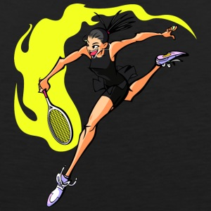 anime tennis player - Men's Premium Tank