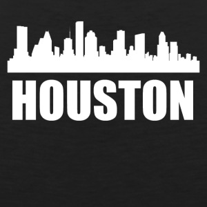 Houston TX Skyline - Men's Premium Tank