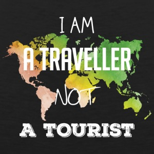 I am a traveller not a tourist - Men's Premium Tank