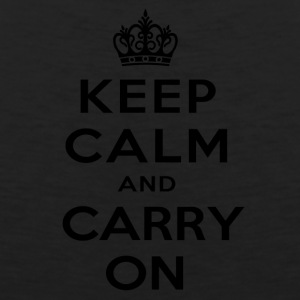 keep calm and carry on - Men's Premium Tank
