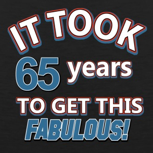 66th birthday party design - Men's Premium Tank