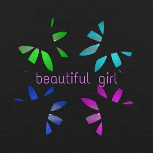 Beautiful girl design - Men's Premium Tank