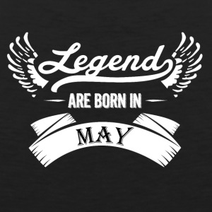 Legends are born in May - Men's Premium Tank