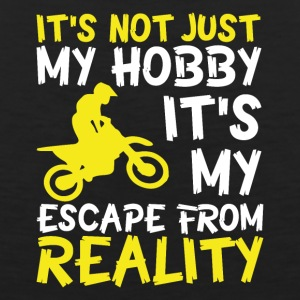 Motorbike escape from reality - Men's Premium Tank