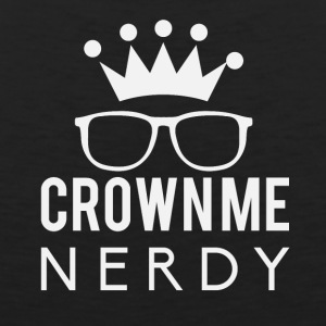 Crownie nerdy - Men's Premium Tank