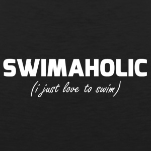 Swimaholic Just love to swim - Men's Premium Tank