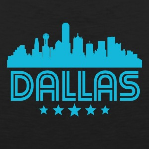 Retro Dallas Skyline - Men's Premium Tank