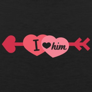 I love him - Men's Premium Tank