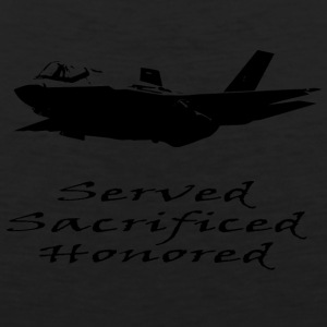 Airforce Served Sacrificed Honored - Men's Premium Tank