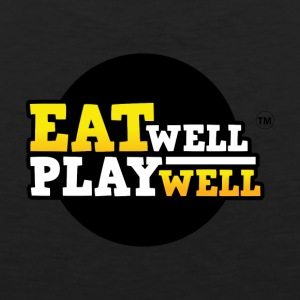 EAT WELL PLAY WELL - Men's Premium Tank