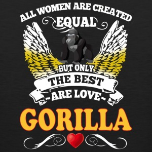 Best Woman Are Love Gorilla - Men's Premium Tank