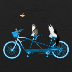 Cats On a Bike - Men's Premium Tank