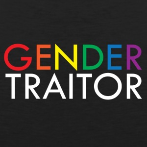 Gender Traitor - Rainbow - Men's Premium Tank