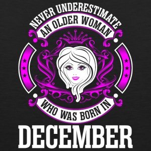 Never Underestimate An Older Woman Who Was Born In - Men's Premium Tank