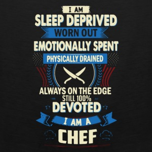 I Am A Chef Tee Shirt - Men's Premium Tank