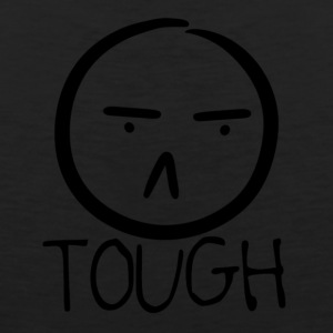 TOUGH FROWN - Men's Premium Tank