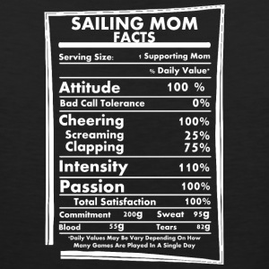 Sailing Mom Facts Daily Values May Be Vary - Men's Premium Tank