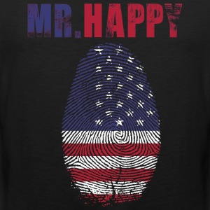 MR HAPPY - Men's Premium Tank