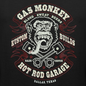 GAS MONKEY LOGO - Men's Premium Tank