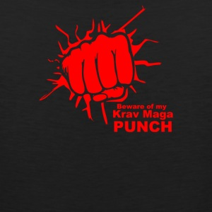 Beware Of My Krav Maga Punch - Men's Premium Tank