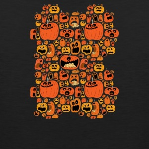 Pumpkin Pattern - Men's Premium Tank