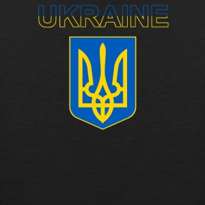 Ukraine Coat Of Arms - Men's Premium Tank