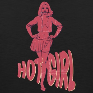 PIN_UP_GIRL_hot_girl_vintage - Men's Premium Tank