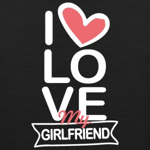 I love my Girlfriend - Men's Premium Tank