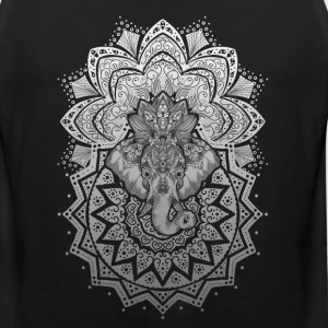elephant ornament - Men's Premium Tank