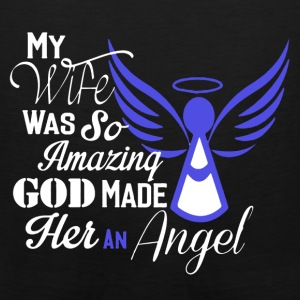 My Wife Is An Angel Shirt - Men's Premium Tank