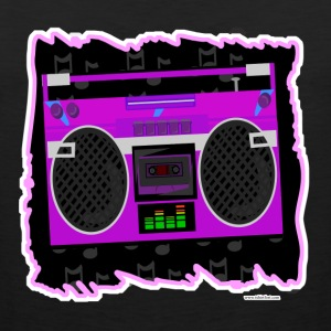 Awesome Eighties Boombox - Men's Premium Tank