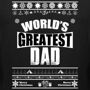 Merry Christmas Greatest Dad - Men's Premium Tank