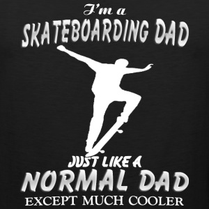 I'm a Skateboarding Dad - Men's Premium Tank