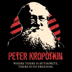 Peter Kropotkin - Where there is authority, there is no freedom.