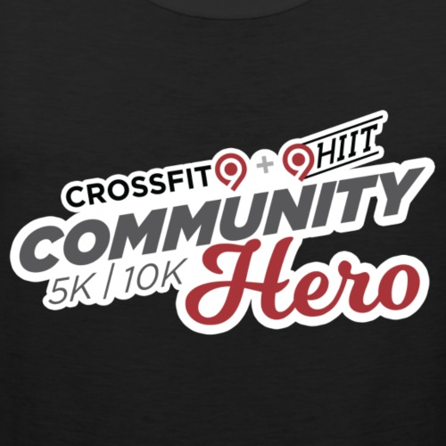 Community Hero 5K / 10K Race Shirt - Men's Premium Tank