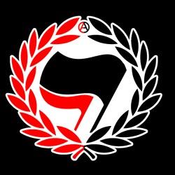 Red & Black Antifa Flags