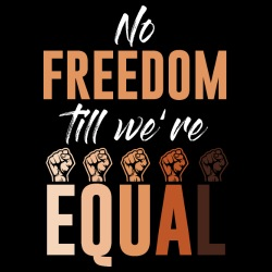 No freedom till we\'re equal