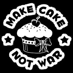 Make cake not war