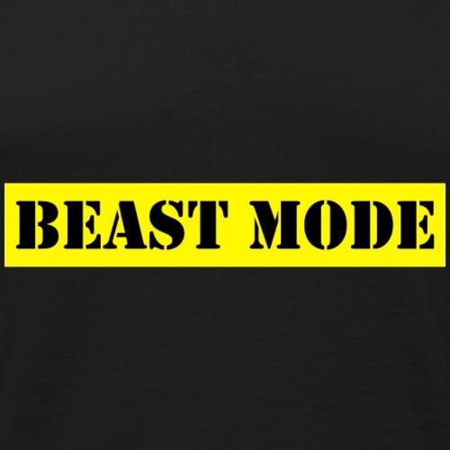 Beast Gym Motivation - Men's Premium Tank