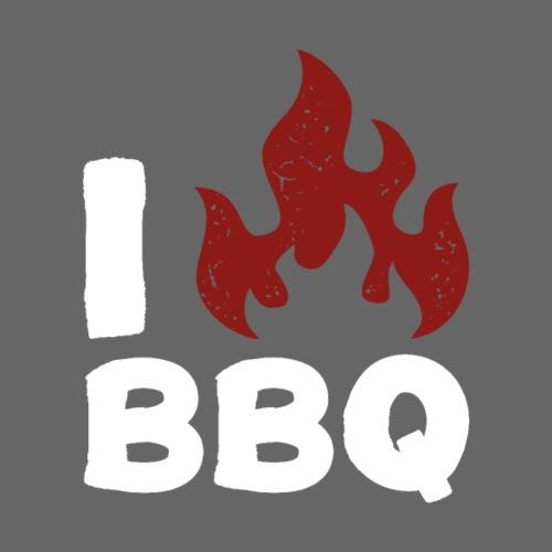 I Heart BBQ - Men's Premium Tank