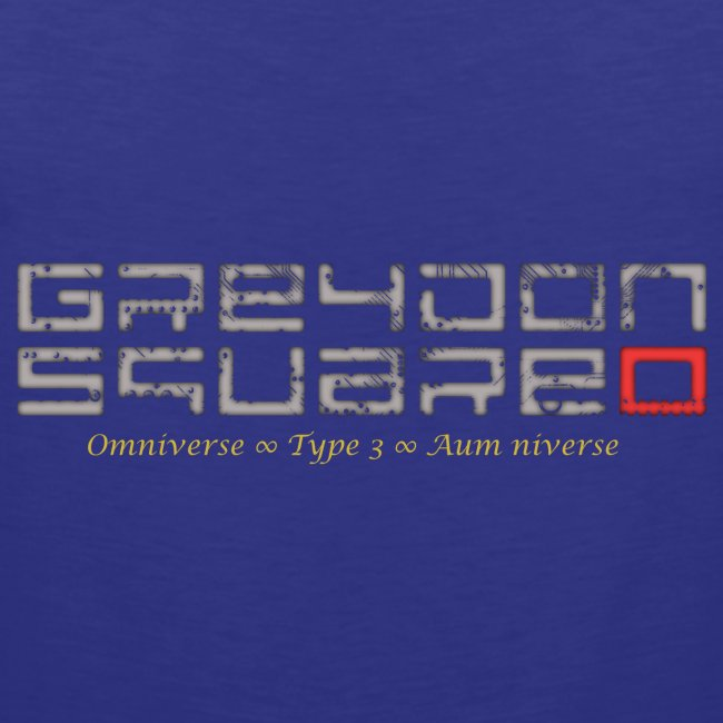Greydon Square Blue & Gold