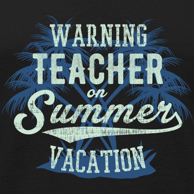 Summer Vacation blue green