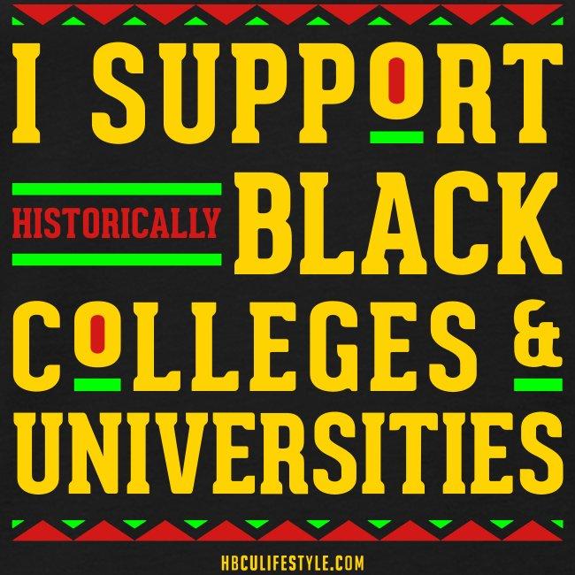 I Support HBCUs